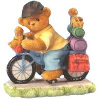 Cherished Teddies Karen and Jeff Out For A Ride 979279