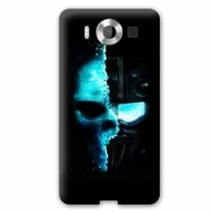 Amazon.com: Case Carcasa Microsoft Lumia 950 skull head ...