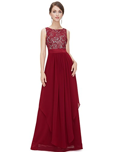 Ever Pretty Womens Quincenera Dresses Ball Gown 6 US Red