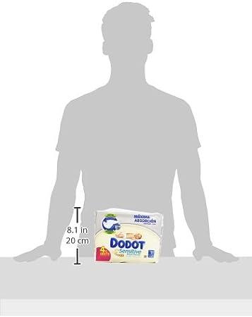 1 caja de 30 pa/ñales Dodot Sensitive/Couches pour b/éb/é Talla 1