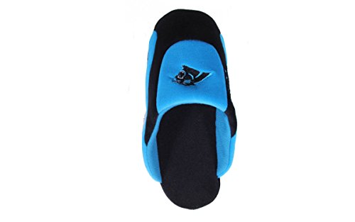 Low Mens Low Womens Panthers LICENSED Comfy Happy Feet NFL and OFFICIALLY Carolina Pro Feet Slippers Pro Agqx6FaxwR