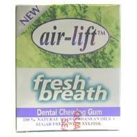 Air Lift Dental Gum Immediate Elimination Of Bad Breath Sugar Free 12 Units