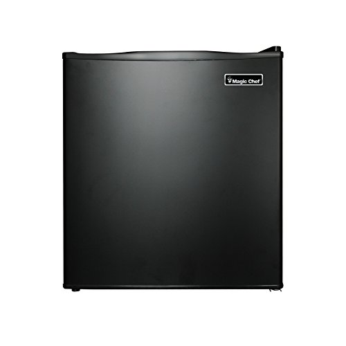 Magic Chef MCAR170B2 1.7 cu.ft. All Refrigerator, Black (Compact Fridge No Freezer)