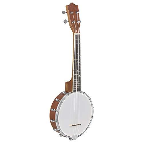 NUYI-6 4 Cuerdas sapele Banjo Instrumento Musical Occidental
