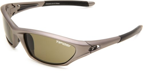 Tifosi Core 0200400475 Wrap Sunglasses,Iron Frame/Green Lens,One Size Review