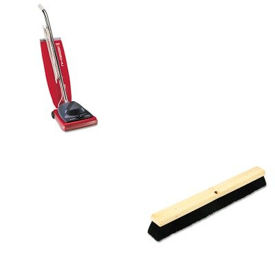 KITBWK20224EUKSC684F - Value Kit - Boardwalk Floor Brush Head (BWK20224) and Commercial Vacuum Cleaner, 16quot; (EUKSC684F)