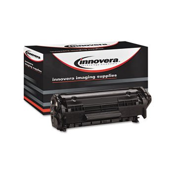 Innovera Remanufactured Toner Cartridge-Replacement for Q2612A (12A), Black