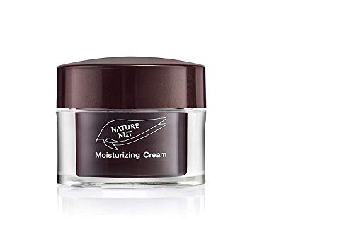 Nature Nut Moisturizing Face Cream - Vegan rich formula based on Hyaluronic Acid, Jojoba Oil & Chia Seeds. clinically tested for sensitive skin, rich in Vitamin-E, Omega-3, 6 & 9