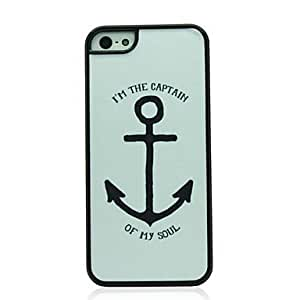 Mini - Big Anchor Pattern Hard Case for iPhone 5/5S