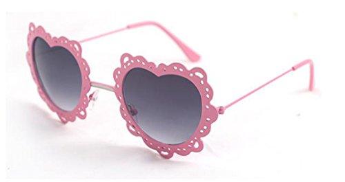 Personalizadas Color Moda de 11 Gafas Coreana Redondas Gafas Gafas Mujer 11 X131 sol de sol de corazón de en Forma xq7TgZ