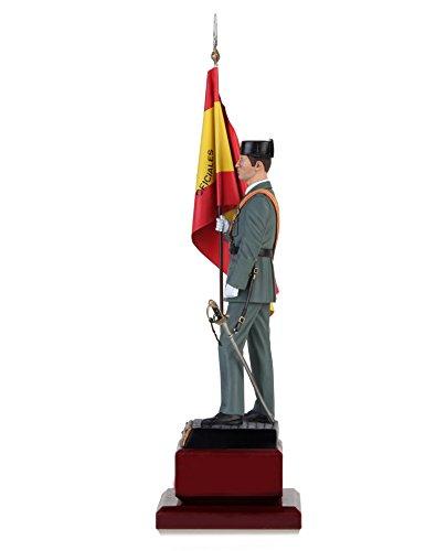 Abanderado de la Academia de Oficiales de la Guardia Civil réplica artesanal: Amazon.es: Juguetes y juegos