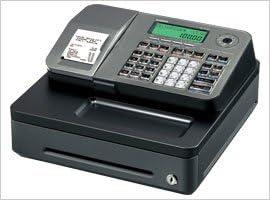 Casio SE-S100S-SIL - Caja registradora electrónica, Pantalla LCD ...
