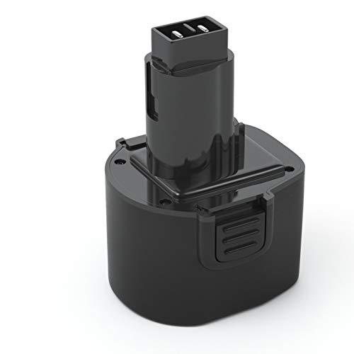 - PWR+ Battery Replacement Compatible with Dewalt 9.6V DW9062 DW9061 DE9036 DE9061 DE9062 DW9614 DW050 Tool Battery 2Ah 9.6V