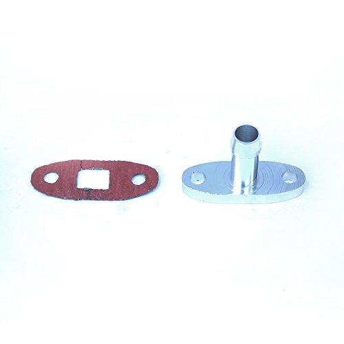 Turbo Oil Drain Flange 5/8 Adaptor Fit Most of Turbonetics / Garrett / Precision / Brogwarner/ Godspeed Cxracing / Big Name Brand AC-024