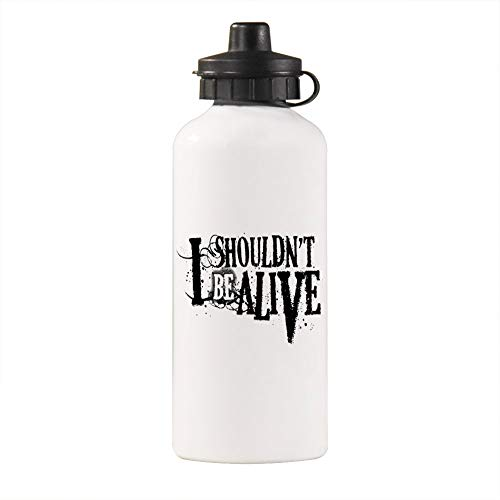 Lixiaolan I Shouldn't Be Alive Aluminum Vacuum Insulated Water Bottle,Leak Proof and Sweat Proof Large Capacity Sports Bottle