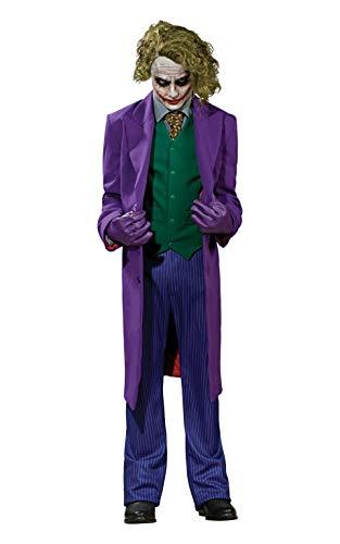 Comic Book Halloween Makeup Ideas (Rubie's Inc Dark Knight The Joker Grand Heritage Costume)