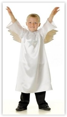Nativity Angel - Boys or Girls Costume 5 - 7 years by Pretend to (Boys Angel Nativity Costume)