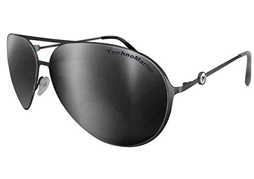 Aviator Thin Original In Cruise Silver Tmew005 Lens Italy Metal Black Technomarine Sunglasses Made Mirrored 5vYEqwxqZ