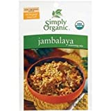 Simply Organic Jambalaya Season mix (6x.74 OZ)