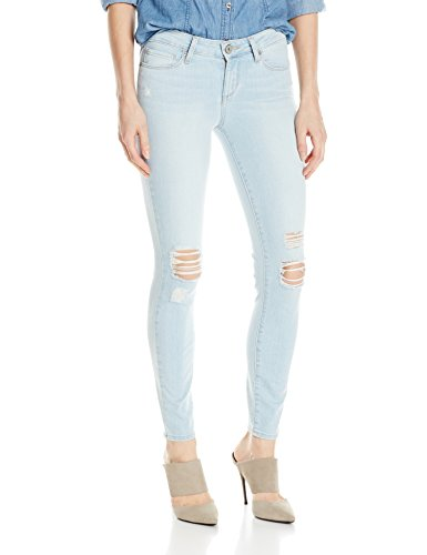 PAIGE Women's Verdugo Ankle Destructed Jeans, Lainey Destructed, 27 (Collection Lainey)