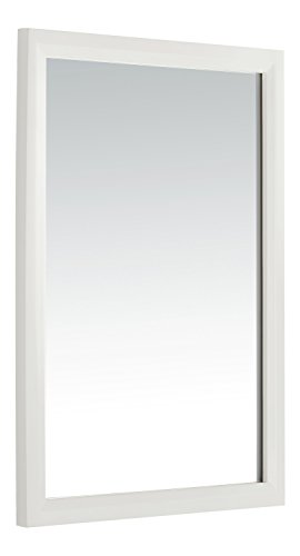 Light Twenty Transitional One (Simpli Home Urban Loft Bath Vanity Mirror, White)
