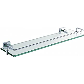 Kraus KEA-14445CH Aura Bathroom Accessories - Shelf with Railing ...
