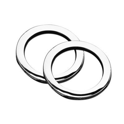 Two Jetted Tub (Jacuzzi P413826 2 TheraPro Jet Rings, Brushed Nickel)