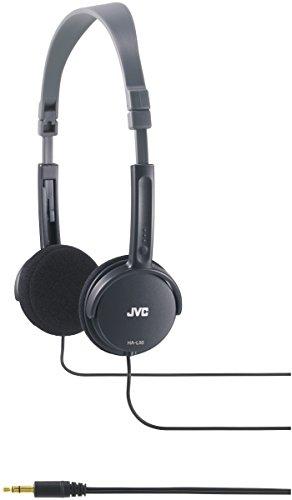 JVC HA-L50B BLACK Foldable Lightweight Stylish Headphones HAL50