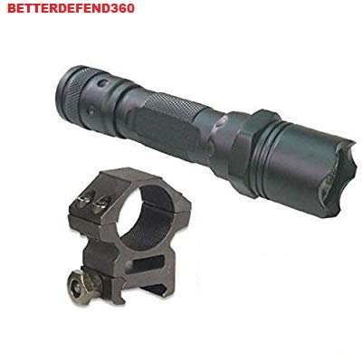 GOTICAL Lumens L.E.D Flashlight LED Tactical - Light Kit with A 7/8