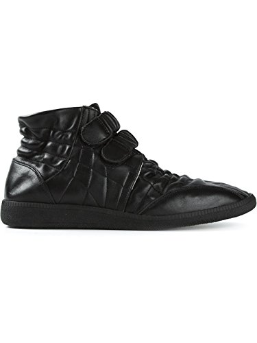 martin-margiela-mens-leather-quilted-hi-top-black-sneakers-8-us-eu-41