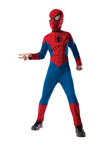Ultimate Spider Man Game Ps2 Halloween Costumes - Rubie's Marvel Ultimate Spider-Man 2-in-1 Reversible