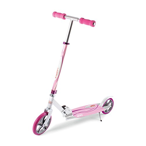"ChromeWheels Dash Glidekick Jumbo Scooter Foldable With 8"" PU Wheels - (Pink)"