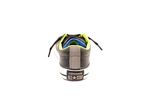 Converse Junior CTAS Slip 654325C Turnschuhe Black/White/Bold Lime