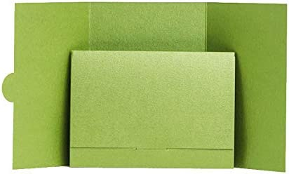 Silver Pearlescent Scratch Card Wallets 79mmx108mm from Pocketfold Invites LTD 1