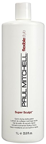 Super Sculpt Styling Glaze - Paul Mitchell Super Sculpt Quick-Drying Styling Glaze Gel for Unisex, 33.8 Ounce