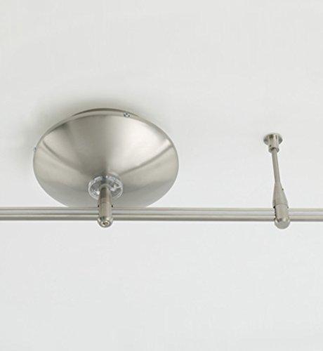 (Tech Lighting 700MOKTS150S, MonoRail Surface Kit 150w, Satin Nickel)