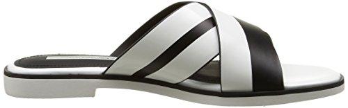 Calvin Klein Jeans Women's Brazil Slide Sandals White (Wba) M1aJJ