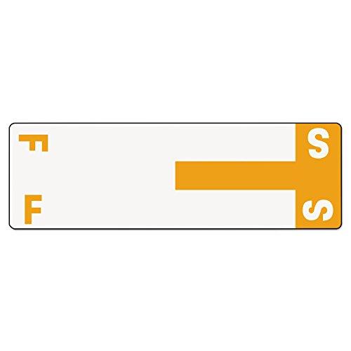 SMD67157 - Smead 67157 Orange AlphaZ NCC Color-Coded Name Label - F S