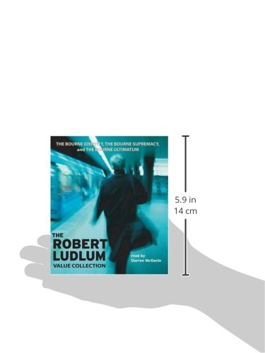 The Robert Ludlum Value Collection: The Bourne Identity, The Bourne Supremacy, The Bourne Ultimatum by Brand: Random House