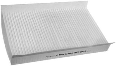 Genuine Borg /& Beck cabine Pollen Intérieur Filtre à air-BFC1022