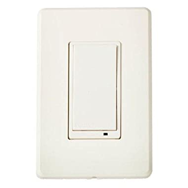 Evolve Guest Controls LSM-15 - Wall Switch, LSM-15, Z-Wave Certification: ZC08-11020016 by Evolve Guest Controls
