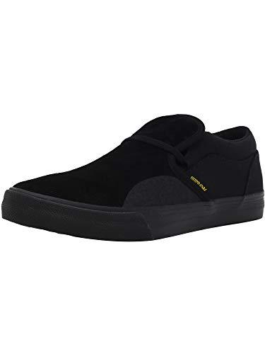 Supra Men's Cuba Tar/Yellow Ankle-High Fashion Sneaker - ()