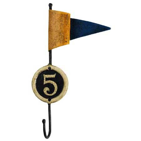 Authentic Models Signal Flag Wall Hook (Signal Flag Hook)