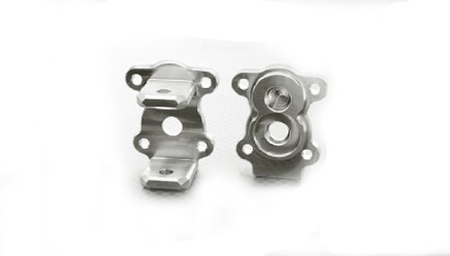 HRP Level 3 Products 2 G-made 51103S Aluminum C-Hub Carrier for R1 Axle GMA51103S