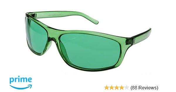 1b348a5def Amazon.com  Green Color Therapy Glasses
