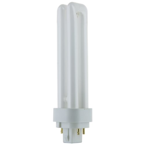 (Sunlite PLD18/E/SP41K 18-Watt Compact Fluorescent Plug-In 2-Pin Light Bulb, 4100K Color)