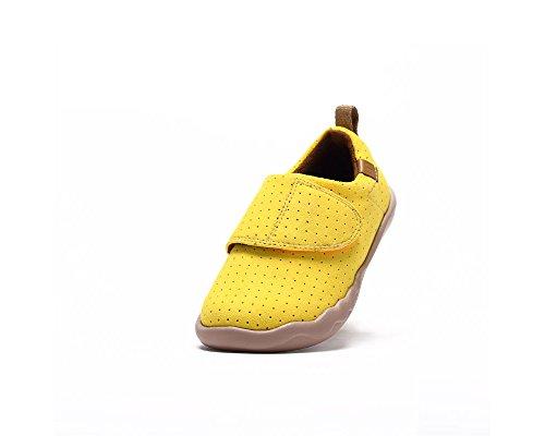 UIN chaussure de slip-on de loisir de Toledo Microfibre des enfants (enfant petit) Jaune