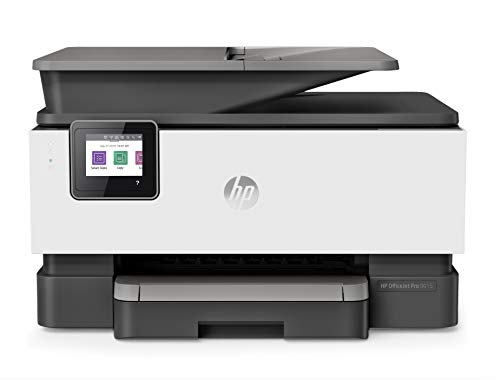HP OfficeJet Pro 9015 All-in-One Wireless Printer, with Smart Tasks for Smart Office Productivity & Never Run Out of Ink with HP Instant Ink (1KR42A) ()