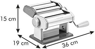 gelb//Silber//wei/ß 21 x 14 x 19.5 cm Plastik Tescoma Nudelmaschine