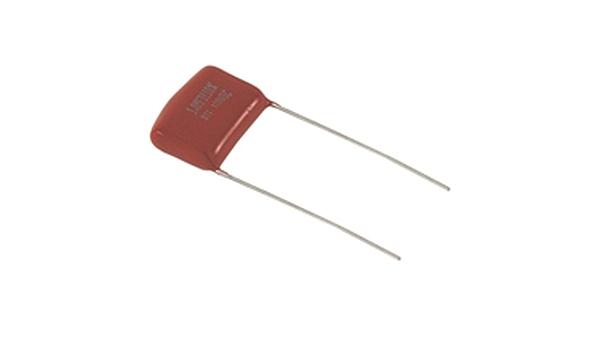 Non-Inductive Radial Lead 0.68 /µF Capacitance NTE Electronics MLR684K250 Series MLR Polyester Non-Polarized Film Capacitor 250V Inc. 10/% Tolerance